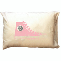 Personalized Pillowcase - Pink Hi-Top