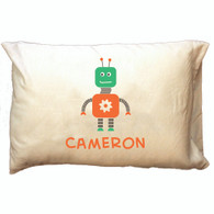 Personalized Pillowcase - Robot Boy