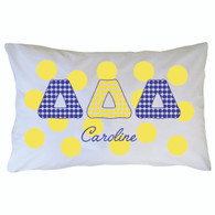 Personalized Greek Pillowcase - Delta Delta Delta
