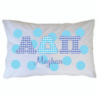 Personalized Greek Pillowcase - Alpha Delta Pi