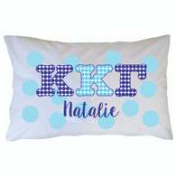 Personalized Greek Pillowcase - Kappa Kappa Gamma