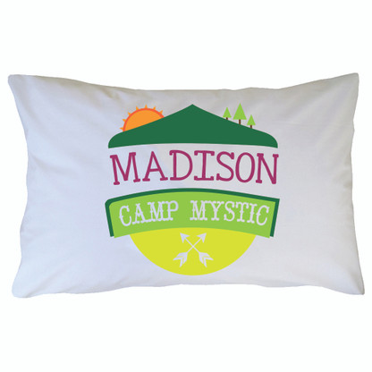 Personalized Camp Mystic Pillowcase