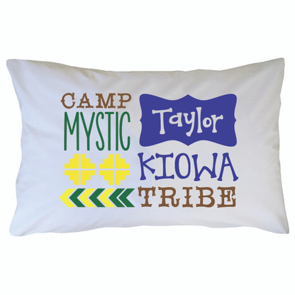 Personalized Camp Mystic Pillowcase - Kiowa
