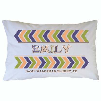 Personalized Camp Waldemar Pillowcase