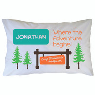 Personalized Camp Winnamocka Pillowcase