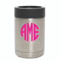 Yeti Rambler Colster with Vinyl Personalization