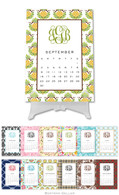 Personalized Classic Desktop Calendar by Boatman Geller