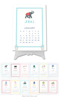 Personalized Icon Desktop Calendar by Boatman Geller
