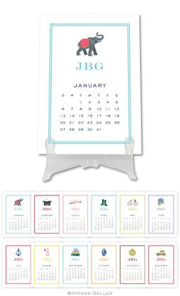 Personalized Icon Desktop Calendar by Boatman Geller