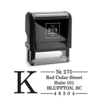 Kirkpatrick Return Address Stamp