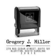 Gregory Return Address Stamp