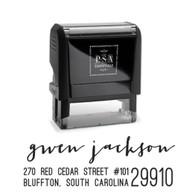 Gwen Return Address Stamp