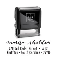 Marisa Return Address Stamp