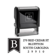 Braden Return Address Stamp