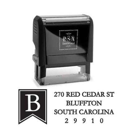 Braden Return Address Stamp
