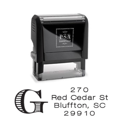 Campbell Return Address Stamp
