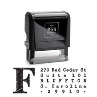 Franklin Return Address Stamp