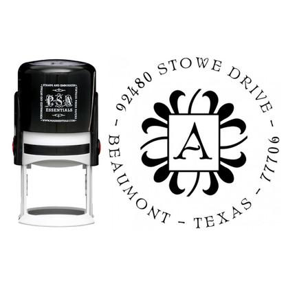 Personalized Abby Return Address Stamp