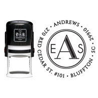 Personalized Andrews Return Address Stamp