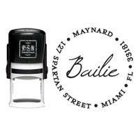 Personalized Bailie Return Address Stamp