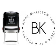 Personalized Brooke Return Address Stamp