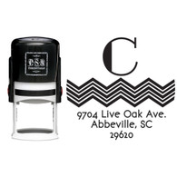 Personalized Charlie Return Address Stamp