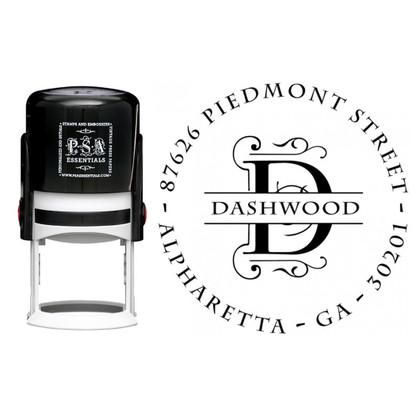 Personalized Dashwood Return Address Stamp