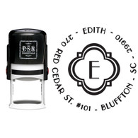 Personalized Edith Return Address Stamp