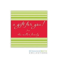 Deck The Halls Holiday Gift Sticker