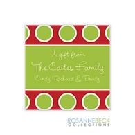 Jolly Holiday Gift Sticker
