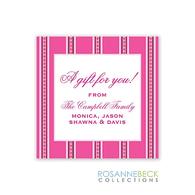 Tribecca Holiday Gift Sticker