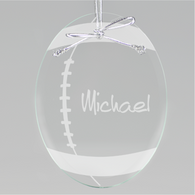 Football Oval Ornament