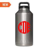 Personalized Yeti Rambler Bottle 64oz - Vinyl