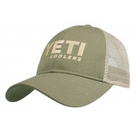 Yeti Coolers Traditional Trucker Hat - Olive