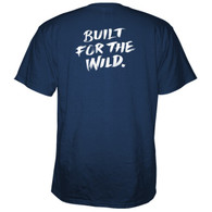 Yeti Coolers Built for the Wild T-Shirt - Navy