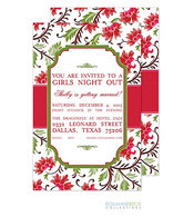 Botanical Holiday Invitation