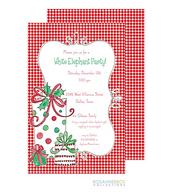 Gift Boxes Holiday Invitation