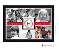 Family Holiday Folded Digital Holiday Photo Card