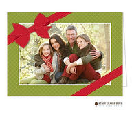 Gift of Christmas Folded Digital Holiday Photo Card