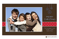 Merry Medallians Flat Digital Holiday Photo Card