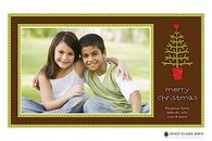 Oh Christmas Tree Flat Digital Holiday Photo Card
