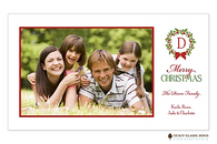 Noel Aspen Flat Digital Holiday Photo Card