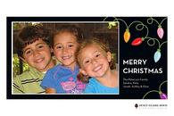 Light Bright Flat Digital Holiday Photo Card