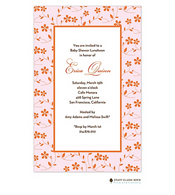 Floral Whisper Pink Invitation