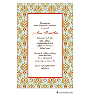 Chateau Orleans Aqua Invitation