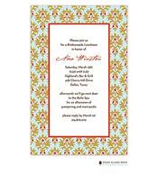 Chateau Orleans Aqua Invitation