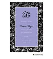 Matlesse Lavender Invitation