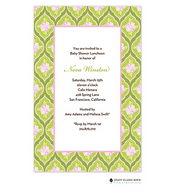 Clementine Green Invitation