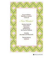 Clementine Green Invitation