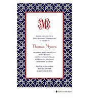 Nautique Navy Invitation